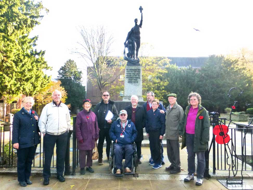 WWI talk/walk with Ken Cowdery and Grame Hodge